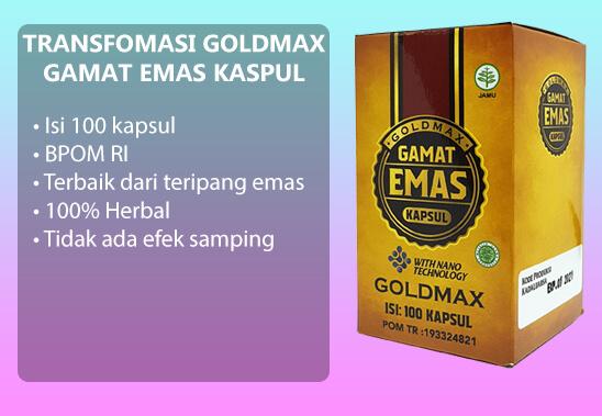 goldmax gamat emas kapsul untuk masalah penyakit